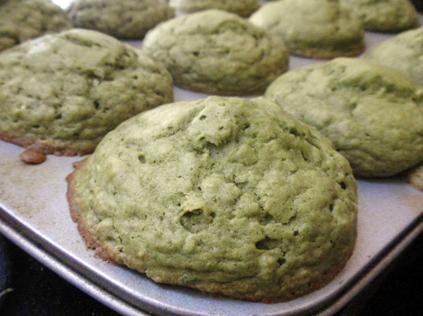 Matcha Yuzu Muffins