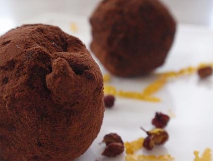 Yuzu Sechuan Truffles